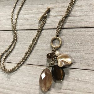 Lia Sophia gold necklace